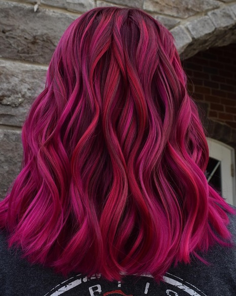 Magenta Hair Colour Ideas Everyone Is Talking About 2019 We Are Contributors